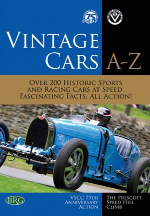 DVD Cover - Vintage cars A-Z