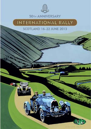 DVD Cover - Bugatti Rally Scotland