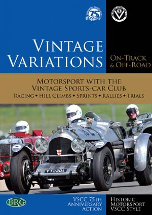 DVD Cover - Vintage Variations
