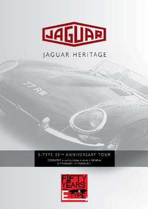 DVD Cover - E-Type Rally   To Geneva